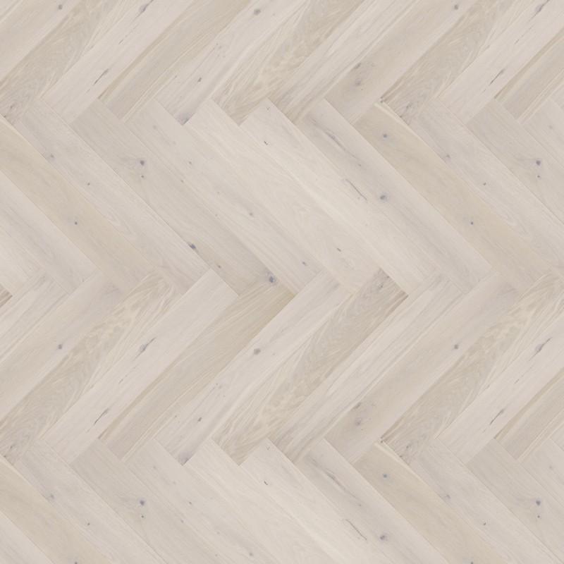 Barlinek Cappuccino Herringbone 110 Tölgy, matt-lakkozott halszálka parketta