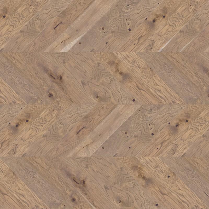 Barlinek Serene Chevron Tölgy, matt-lakkozott francia halszálka parketta