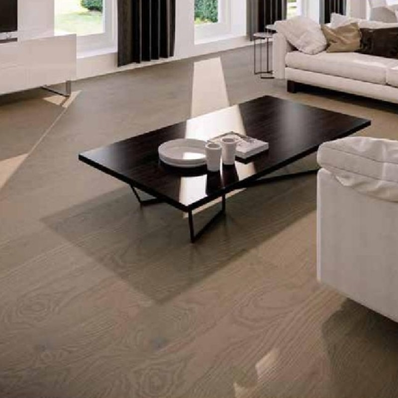 Hafro Sorgenfrei 190 Eiche Country Pure Protect Grey matt-lakkozott szalagparketta